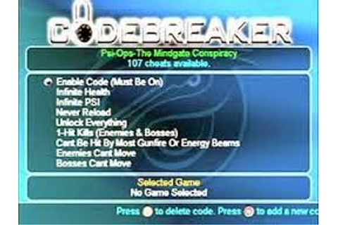 Code breaker 10 HDL Patched for Playstation 2 - BeAtz SOFTWARE