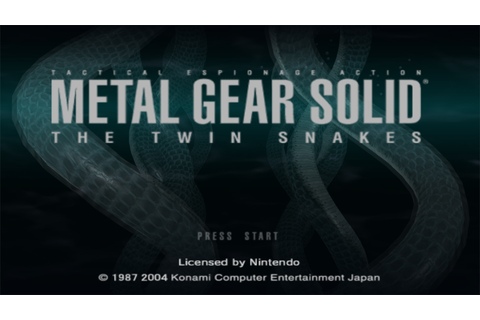 Metal Gear Solid - The Twin Snakes (Disc 1) ISO