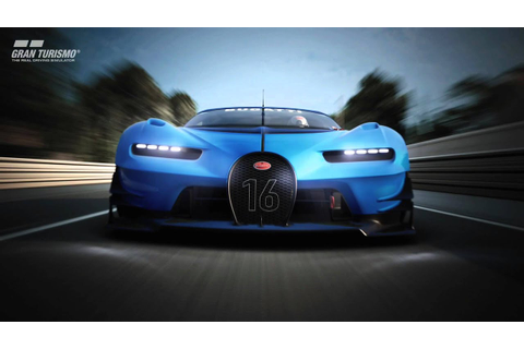 2015 BUGATTI Vision Gran Turismo Concept - official video ...