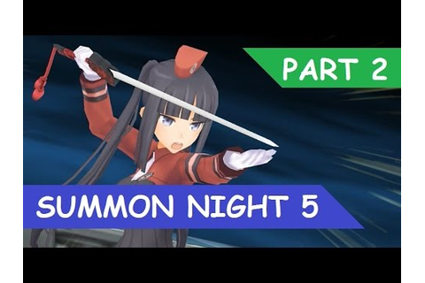 Summon Night 5 Walkthrough Part 2 - YouTube