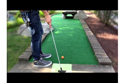 THE CLOSEST Mini Golf Game EVER! | Lets Play Mini Golf FOR ...