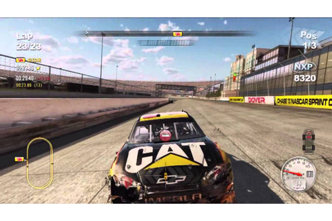 NASCAR The Game 2011 Online Crash Compilation #2 - YouTube