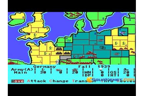 Storm Across Europe (1989) - PC Game