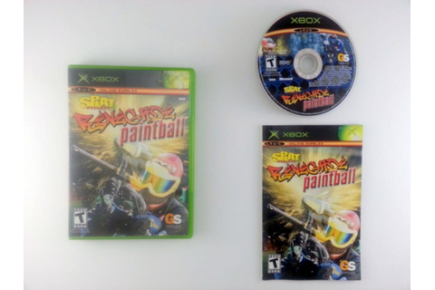 Splat Magazine Renegade Paintball game for Xbox (Complete ...