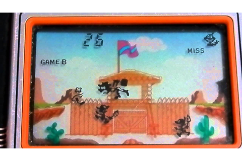 12543 Nintendo Game & Watch Fire Attack (ID-29) - YouTube