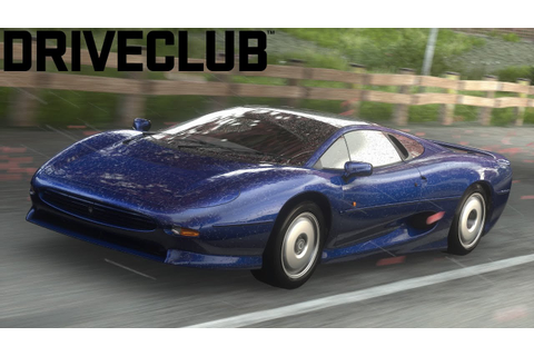 DriveClub | Jaguar XJ220 | Gameplay | PS4 - YouTube