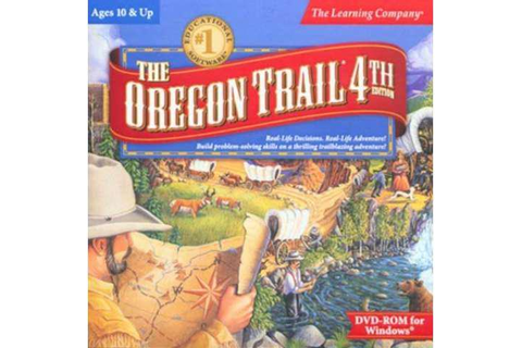 hot THE OREGON TRAIL 4TH EDITION for (PC DVD) SEALED NEW ...