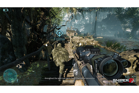 ... as you search for the best sniping position in Sniper: Ghost Warrior 2
