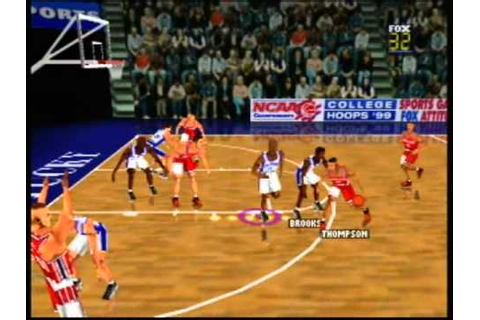 Fox Sports College Hoops 99 - Nintendo 64 - YouTube