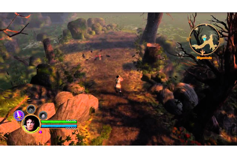 Dungeon Siege 3 Gameplay Xbox 360 - YouTube