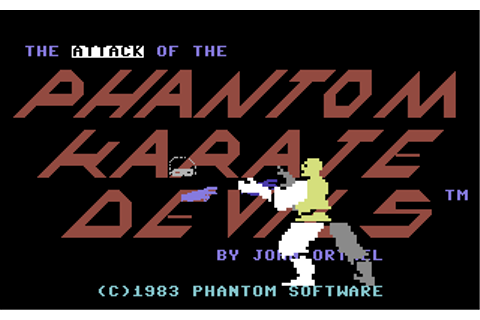 Attack of the Phantom Karate Devils, The - Commodore 64 ...