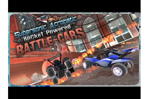 Supersonic Acrobatic Rocket-Powered Battle-Cars | L8Games ...