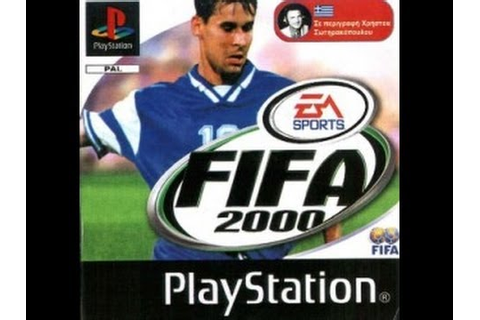 PSX Gameplays - FIFA 2000 Greek Edition - YouTube