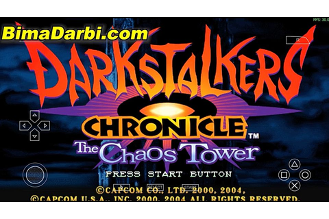 (PSP Android) Darkstalkers Chronicle: The Chaos Tower ...