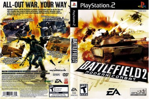 Battlefield 2: Modern Combat (PS2) - The Cover Project