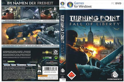 All Games You Need: Turning Point Fall of Liberty - PC - Game
