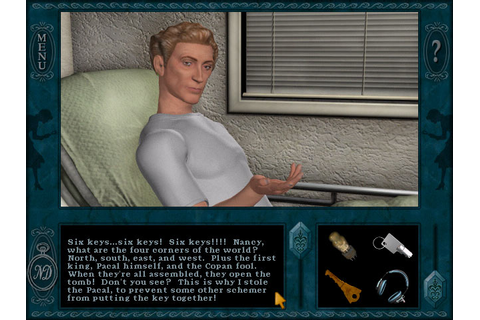 DOWNLOAD GAME PC FREE: Nancy Drew 06 - Secret of the ...