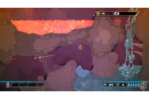 Pixeljunk Shooter Ultimate Gameplay(PS4) - YouTube