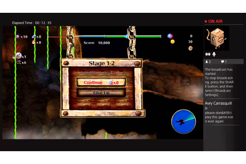 Spelunker world gameplay - YouTube