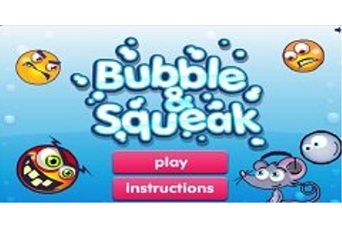 Bubble and Squeak on Qwant Games
