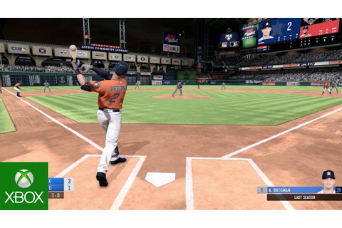 R.B.I. Baseball 19 - Gameplay Trailer - YouTube