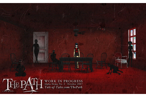 The Path -------- a short horror game by Tale of Tales