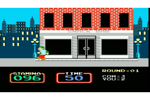NES - Urban Champion - gameplay - YouTube