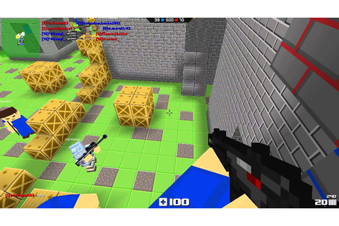BLOCKADE 3D game multiplayer video 2015 - YouTube