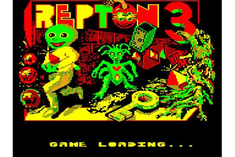 Repton 3 - BBC Micro Game - YouTube