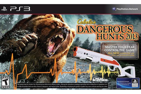 Cabela's Dangerous Hunts 2013 with Gun (PS3) | The Gamesmen