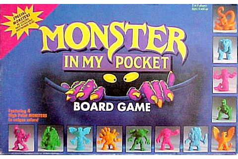 Monster in My Pocket (Board Game) - Monster in My Pocket Wiki