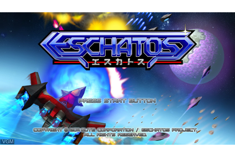 Eschatos for Microsoft Xbox 360 - The Video Games Museum