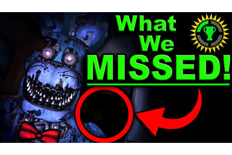 Game Theory: FNAF, The Clue that SOLVES Five Nights at ...