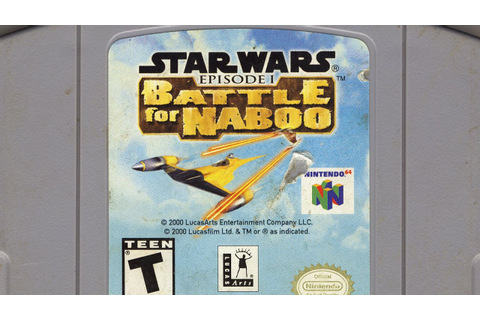 Classic Game Room - STAR WARS EPISODE 1: BATTLE FOR NABOO ...
