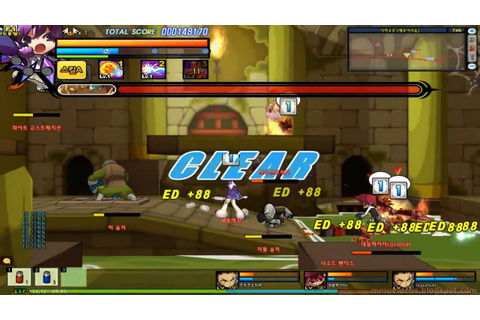 Elsword - Beginner Game Play - Online Action Game - YouTube