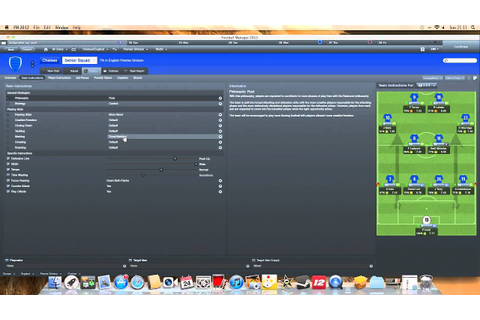 Football Manager 2012 Best Tactic - YouTube