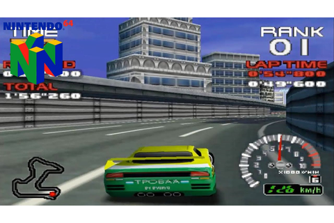 Ridge Racer 64 (Nintendo 64 Gameplay) - YouTube