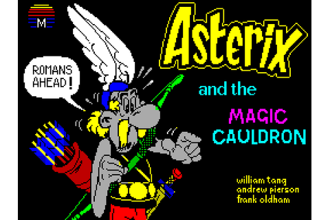 Asterix and the Magic Cauldron (1986) by Beam Software ZX ...