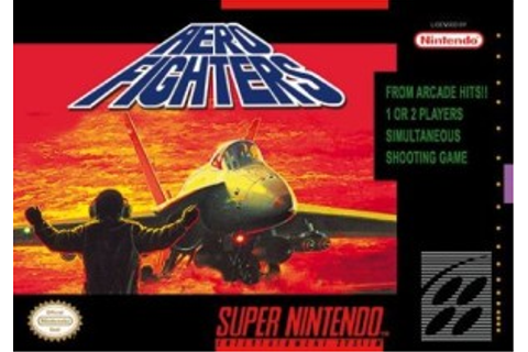 Aero Fighters - SNES - Nerd Bacon Reviews