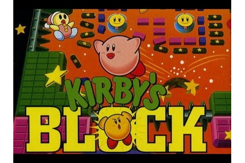 CGRundertow KIRBY'S BLOCK BALL for Game Boy Video Game ...