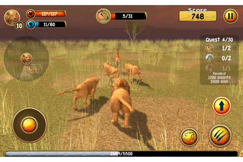 Wild Lion Simulator 3D - Android Apps on Google Play