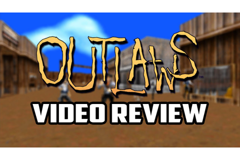 Retro Review - Outlaws PC Game Review - YouTube