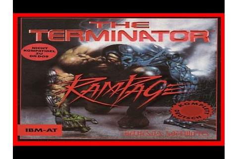 The Terminator - Rampage 1993 PC - YouTube