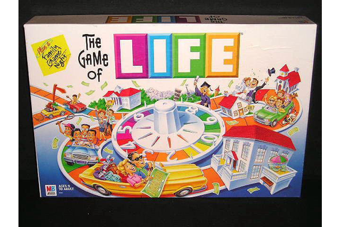 The Best Classic Board Games: The Game of Life | Recycled ...