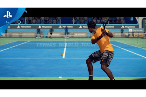 Tennis World Tour - PGW 2017 Announce Trailer | PS4 - YouTube