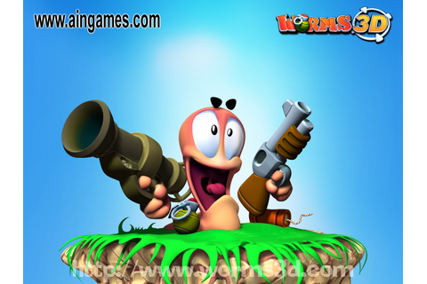 Free Download Games Worms 3D - Full Rip Version - PC PS ...