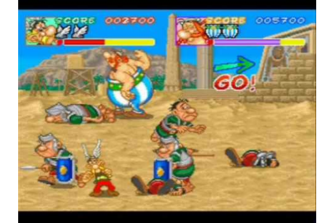 We Play - Asterix (Arcade) - 01 - Obelix - Get off me ...