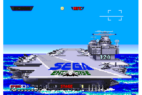 After Burner II (1987) by Sega Arcade game