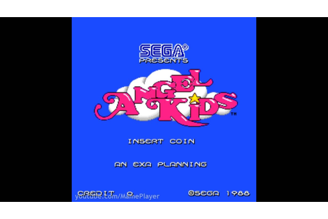 Angel Kids 1988 Sega/Exa Planning Mame Retro Arcade Games ...