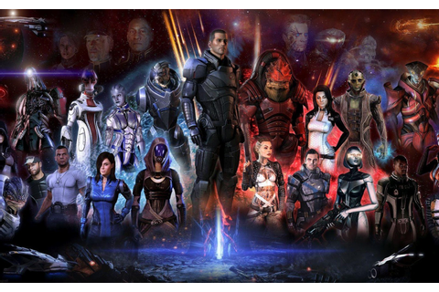 Game Wallpapers: Mass Effect (Wallpapers)